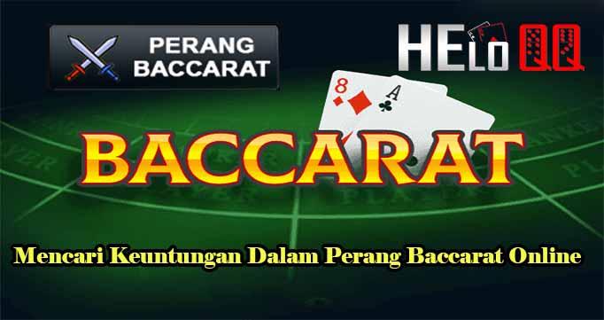 MencLakukan Ini Untuk Sukses di Situs Judi QQ Online Indonesiaari Keuntungan Dalam Perang Baccarat Online
